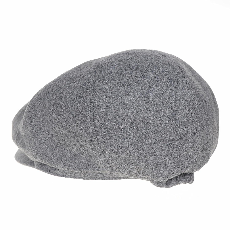 WITHMOONS Coppola Cappello Irish Gatsby Newsboy Hat Wool Felt Simple ... e5eced01944f