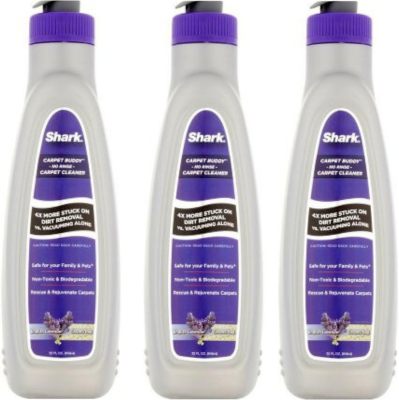 Shark Carpet Buddy No Rinse Carpet Cleaner, 32 oz - 3 Pack