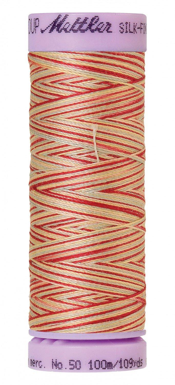 each Mettler No 50 Silk Finish Multi Cotton Quilting Thread 100m 100m 9857 Coral Sands