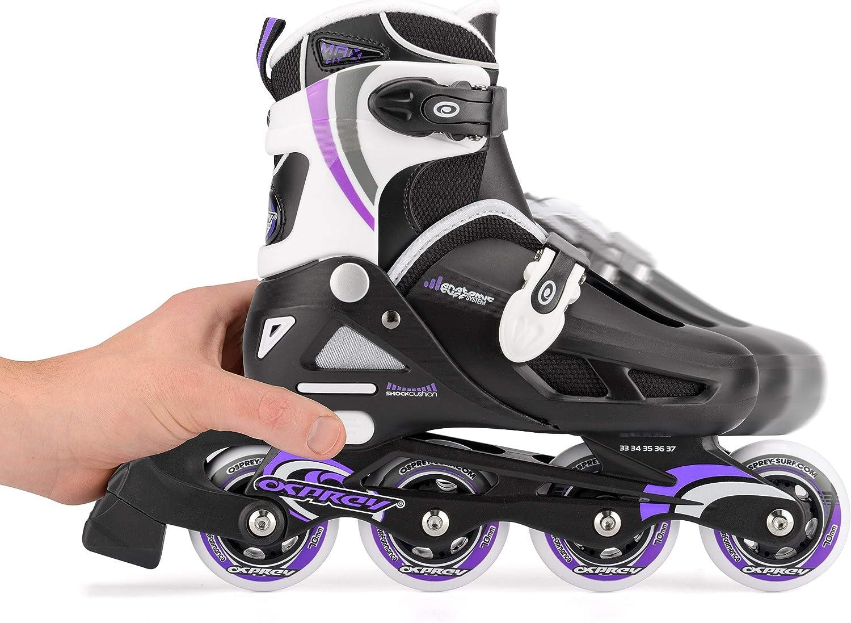 Osprey Kids Roller Blades, Adjustable Inline Skates - 1