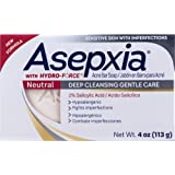 Amazon.com: Asepxia Jabón neutro 4 oz, paquete de de 1: Beauty