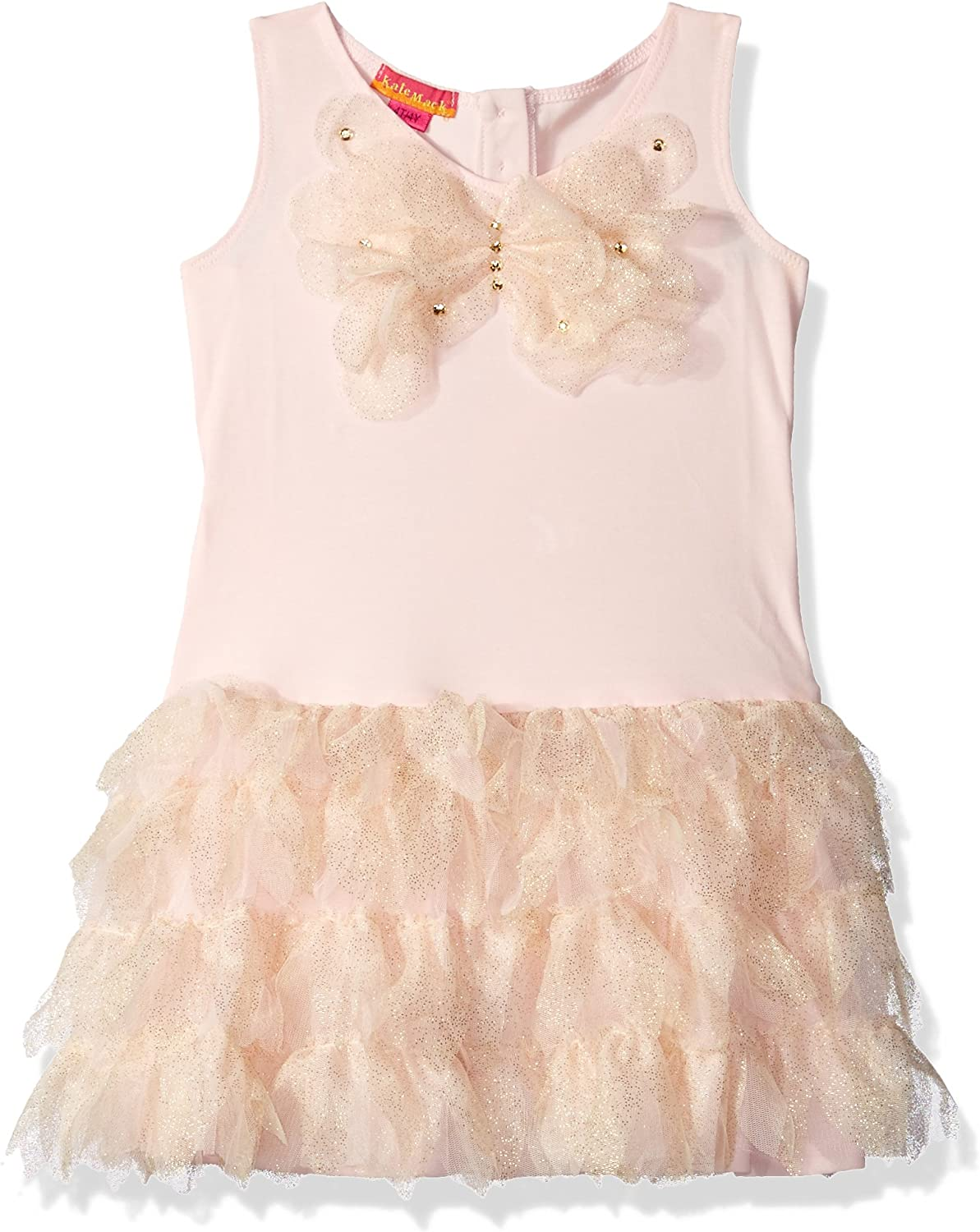 CoKate Baby Girls Floral Ruffles Sleeveless Dress with Bottom Brief