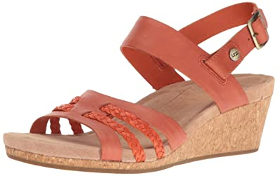 3a62f9e7172c UGG Women s Serinda Wedge Sandal