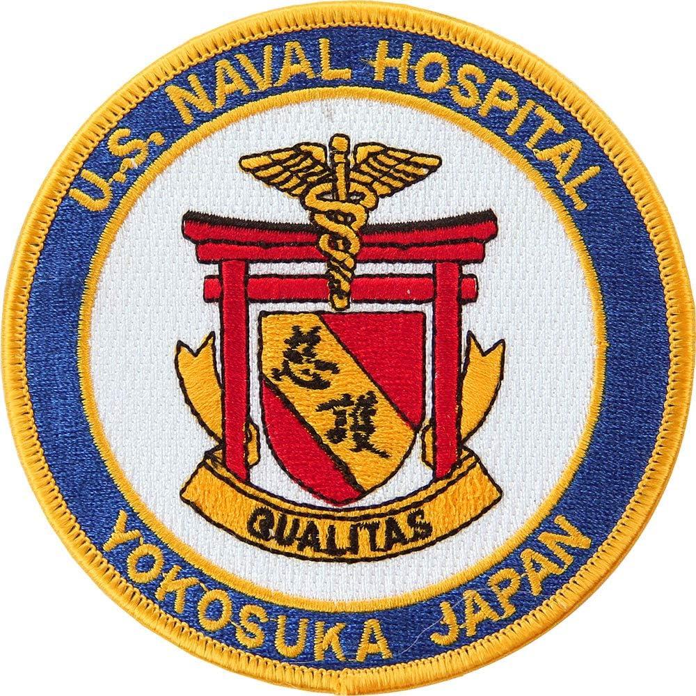 Naval Hospital Yokosuka Japan Patch Full Color