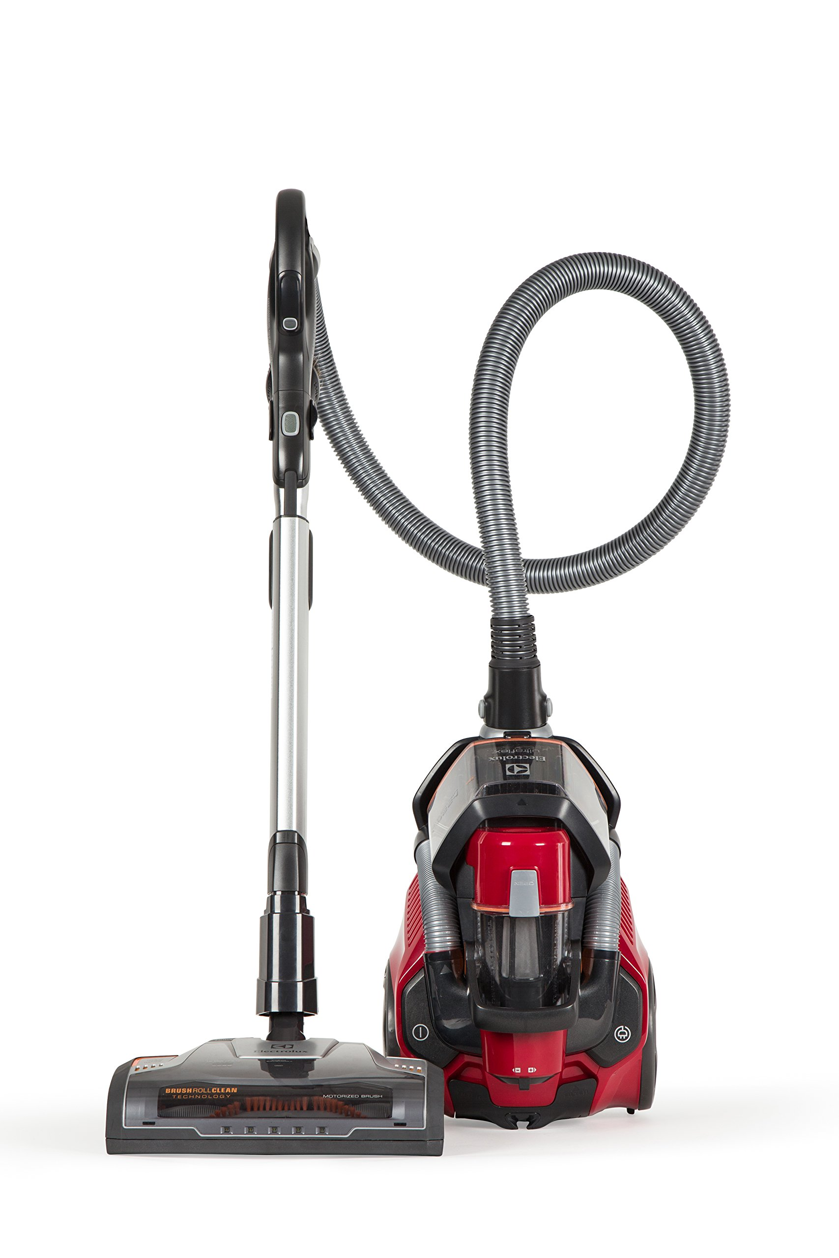 Electrolux EL4335B Corded Ultra Flex Canister Vacuum, Watermelon Red by Electrolux