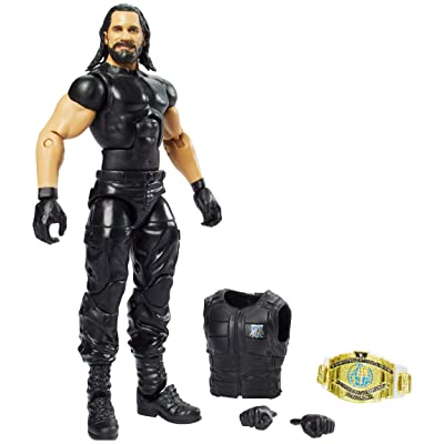 WWE Seth Rollins Elite Collection Action Figure: Toys & Games
