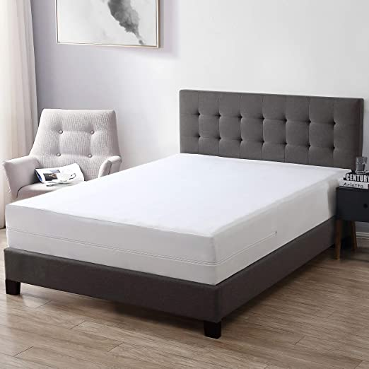 Bed Bug Mattress Cover.Amazon Com Exq Home 100 Bed Bug Proof Mattress Cover Twin Size