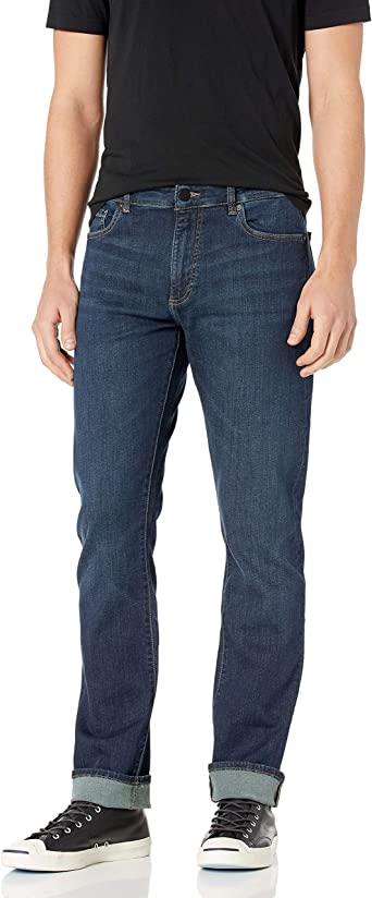 DL1961 Mens Dl Ultimate Knit Russell-Slim Straight Fit Leg Jean
