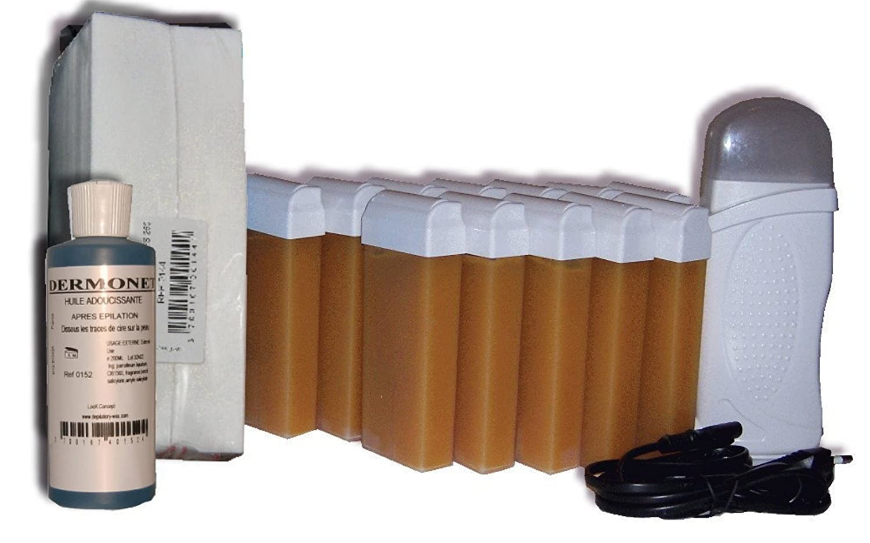 storepil–Kit Depilación roll-on–12Recambios miel L.C.I
