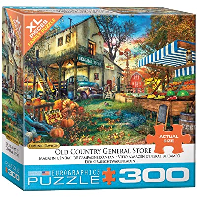 EuroGraphics Old Country General Store 300-Piece Puzzle: Toys & Games
