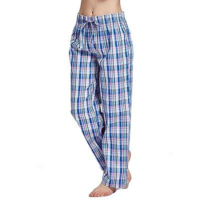 9a13548b0e6 CYZ Women s 100% Cotton Woven Sleep Pajama Pants-F113-XS