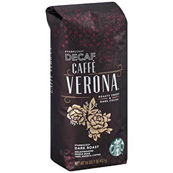 Decaf Caffè Verona Starbucks Coffee Beans