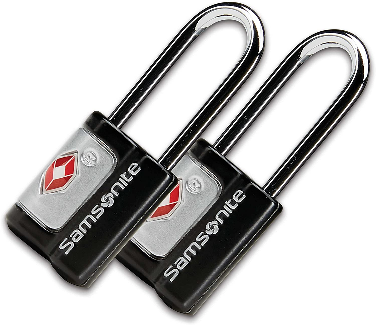| Samsonite Travel Sentry 2-pack Key Locks, Black | Luggage Locks