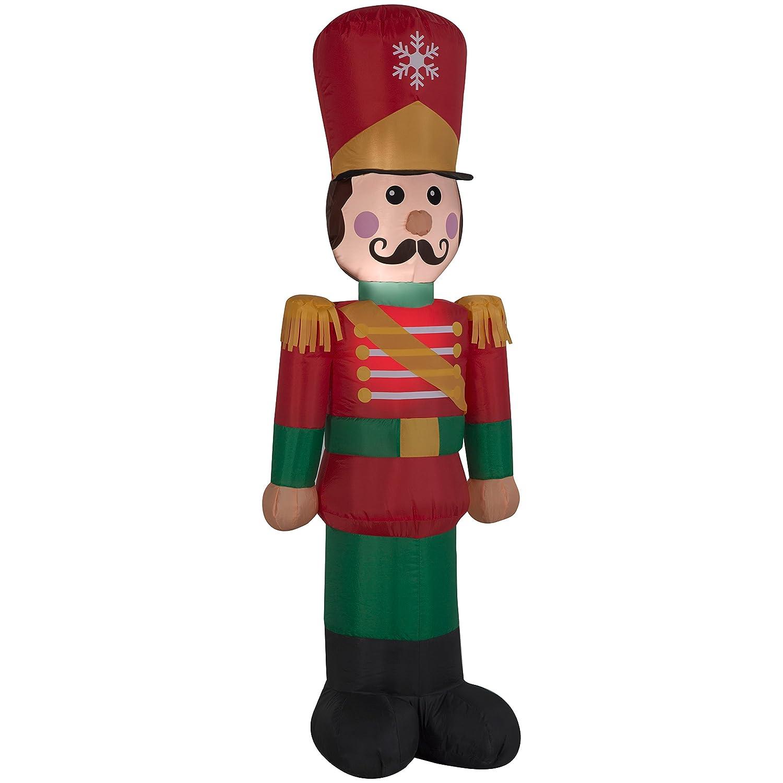 Amazon.com: Inflatable Nutcracker Soldier - Christmas Airblown - 4ft ...