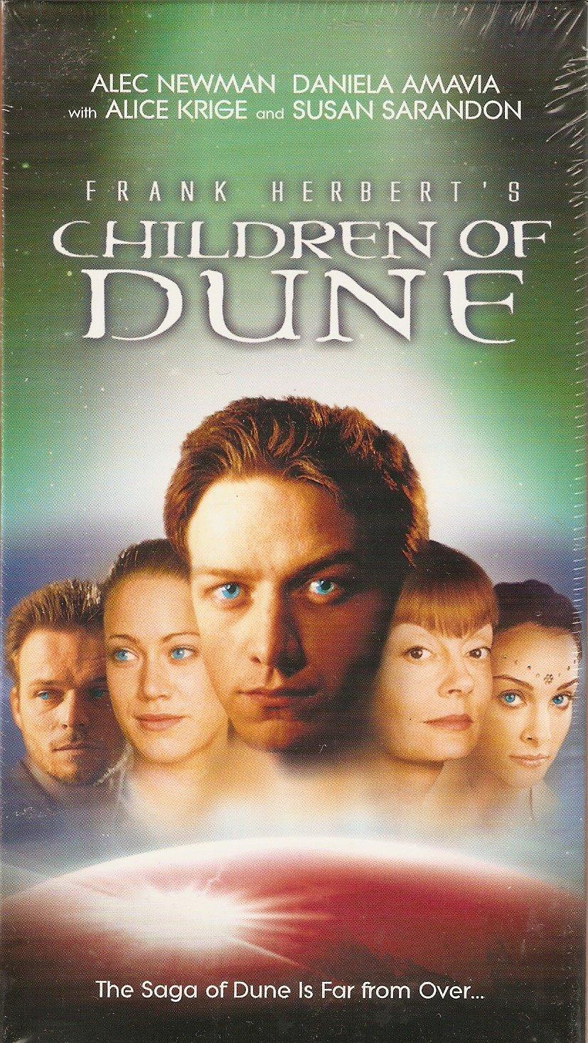 Frank Herbert's Children of Dune (TV Miniseries 2 Tape Set - SP Mode)