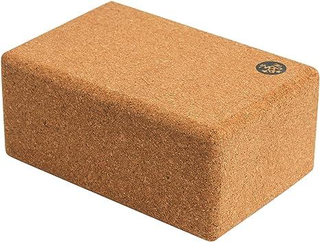 Manduka Unisex Cork Yoga Block