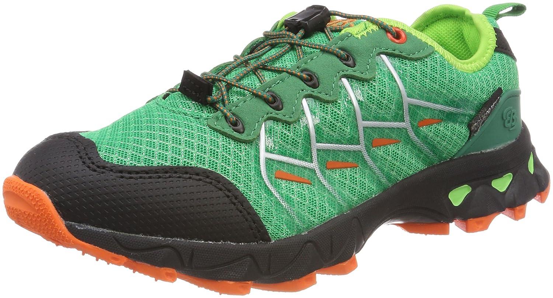 Bruetting Countdown, Zapatos de Low Rise Senderismo Unisex Adulto 39 EU|Verde (Gruen/Schwarz/Orange)