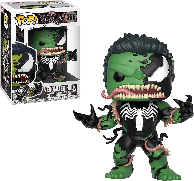 Funko Pop Marvel Multicolor Venom Captain America Collectible Figure Venom