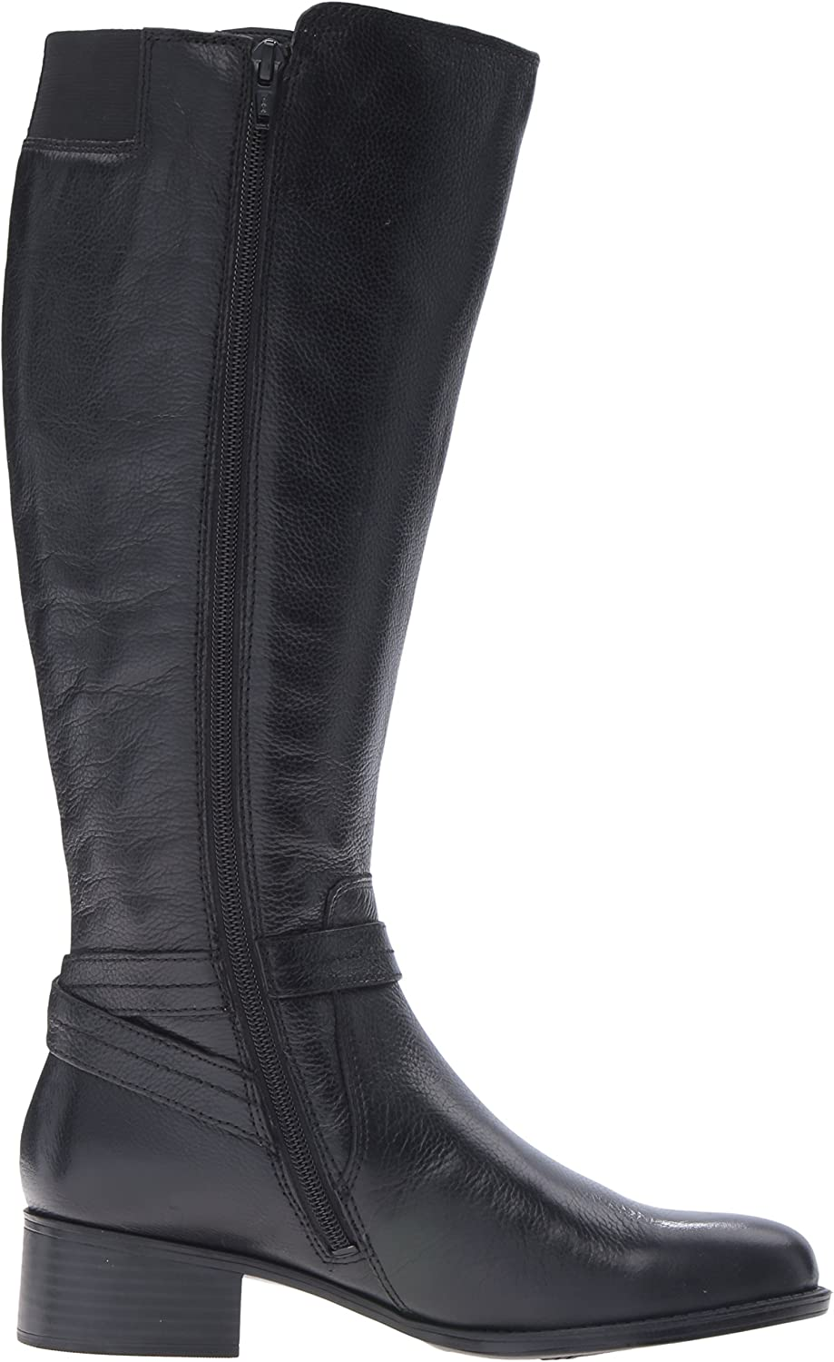 Naturalizer Womens Wynnie Wide Calf Riding Boot