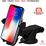 Tantra Twist Smart Universal Mobile Stand For Car With Quick One Touch Technology (Expandable & Rotatable) (Black)