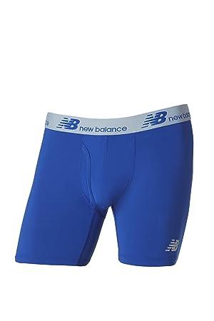 New Balance para Hombre seco Fresh Boxer Brief 2-Pack, Hombre, Marine Blue