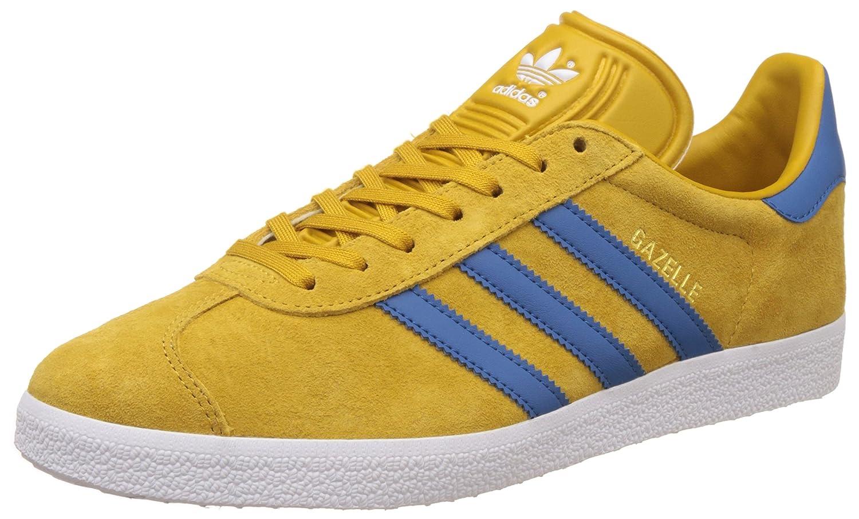 Adidas Gazelle 2 - Zapatillas de running para hombre, color 40 2/3 EU|amarillo azul