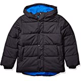 Amazon Essentials Boys' Heavy-Weight Hooded Puffer Jacket Coat