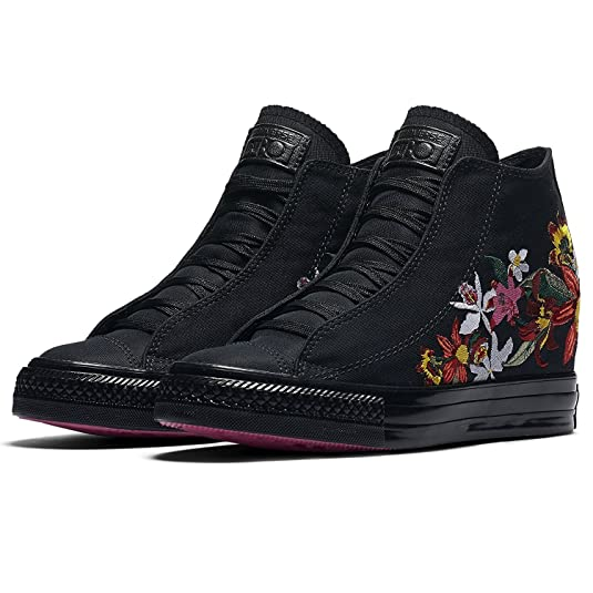 d05d104031a7 Converse x PatBo Chuck Taylor All Star Lux Mid 554865C Black Wedge Women  Shoes (Size 6.5)  Amazon.ca  Shoes   Handbags