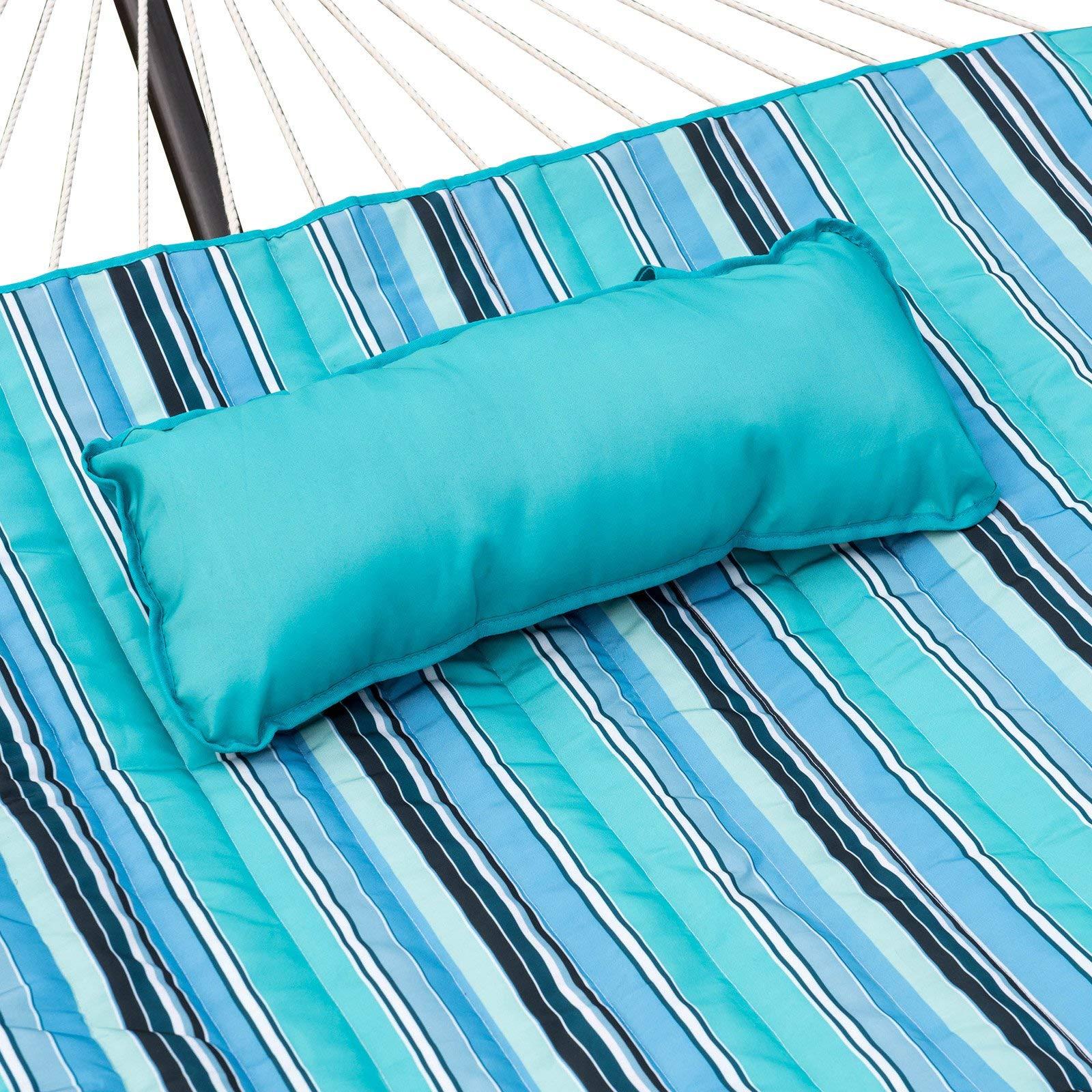 Jur_Global Blue Wave Island Retreat Hammock Pillow and Pad Set