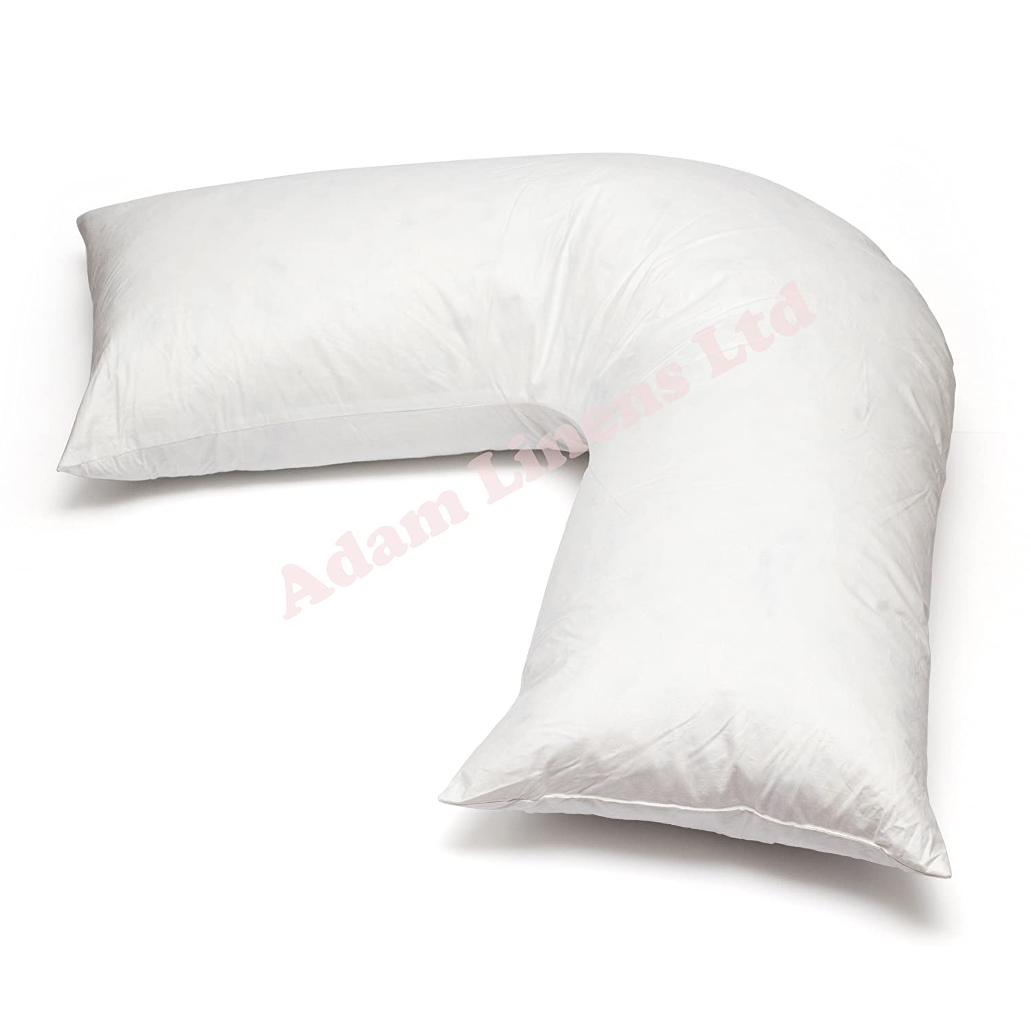 863ab16e27b Adamlinens Duck Feather   Down - V Shaped Pillow Only Washable
