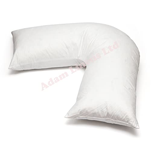 Duck Feather V Shaped Triangle Pillow Top Quality