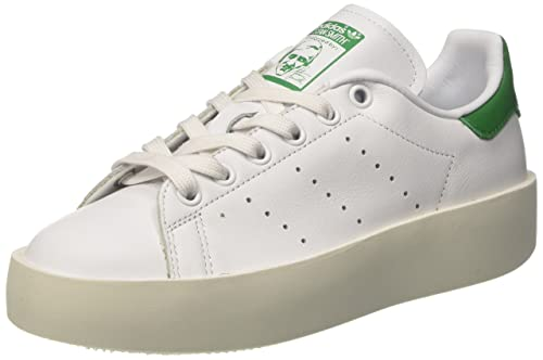 new style 25615 3d5a6 adidas Women's Stan Smith Bold Sneaker Low Neck, FTWR White ...