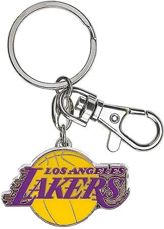 Aminco Nba Los Angeles Lakers Schwerer Schlüsselanhänger Mehrfarbig Einheitsgröße Sport Freizeit