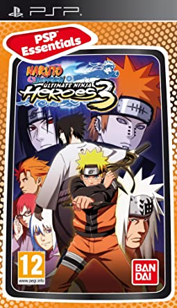 Amazon.com: Naruto Shippuden: Ultimate Ninja Heroes 3 ...