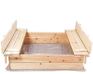 Kletterdreieck Selber Bauen : Ondis24 sandkasten holz sandkiste für kinder praktische