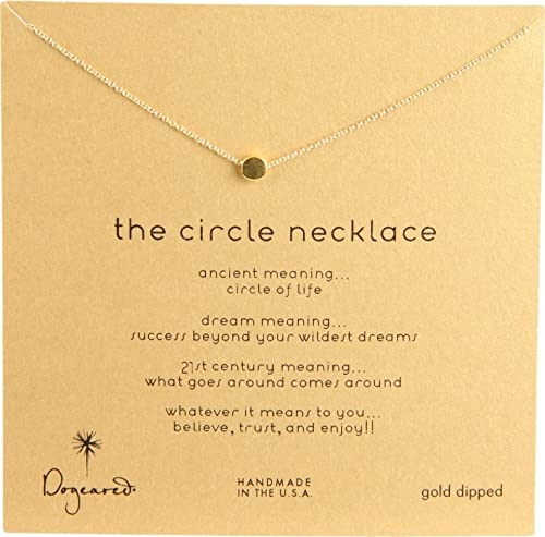 dfc4c133c9cd5 Dogeared Karma The Circle Necklace,16