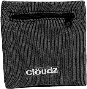 Cloudz : RFID Protection Travel Wrist Wallet - Black