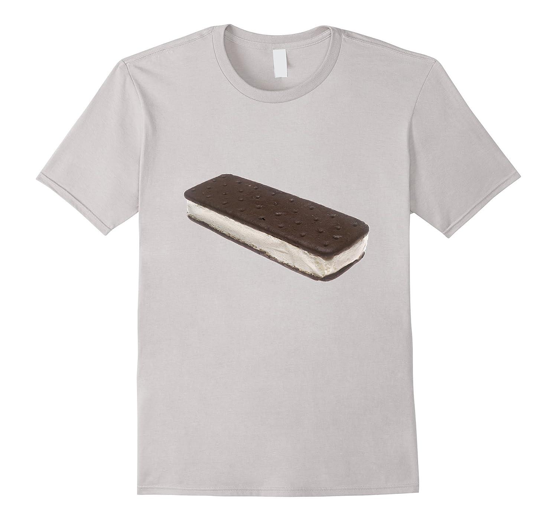 Ice Cream Sandwich Graphic t-shirt Favorite Frozen Treat-mt