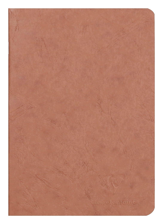 Clairefontaine 733164C Libretto A5, rilegato in borsa d'epoca, foderato, 48 fogli, blu C Rhodia Jardinage