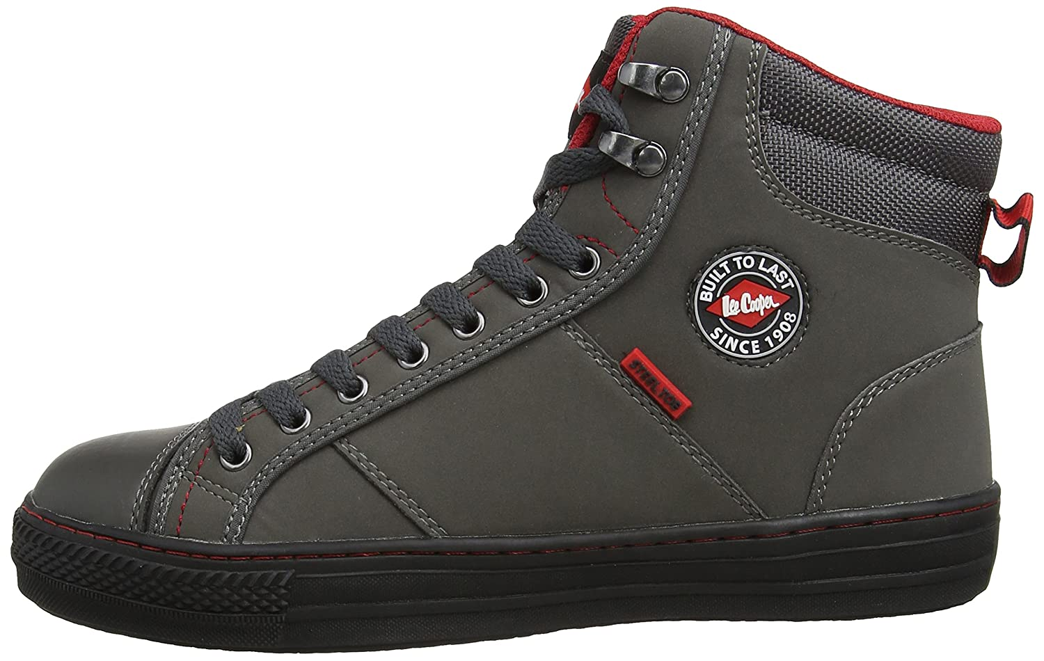 601c2c4cf388 Lee Cooper Workwear Unisex-Adult LCSHOE022 Safety Shoes Grey 3 UK ...