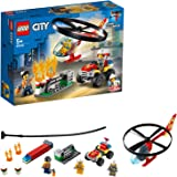 LEGO City Fire Helicopter Response 60248 Firefighter Toy, Fun Building Set for Kids