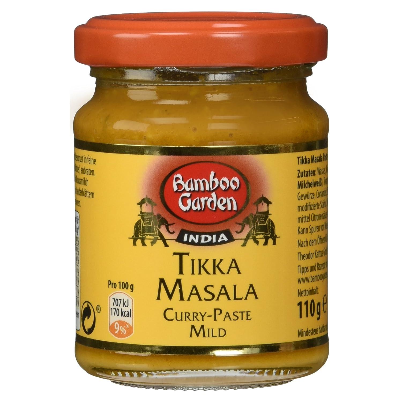 Bamboo Garden Tikka Masala Curry-Paste Mild, 110 g: Amazon.de ...