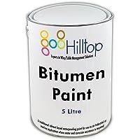 Trade Qualité étanche Noir protection peinture bitume 5litre