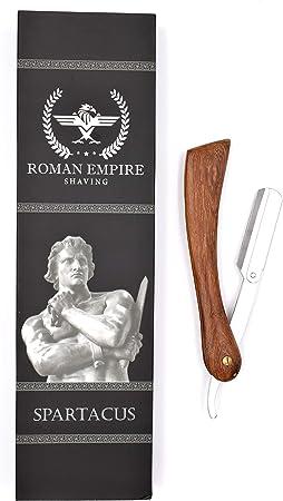 Afeitadora de mano libre Spartacus con juego de 20 cuchillas ...