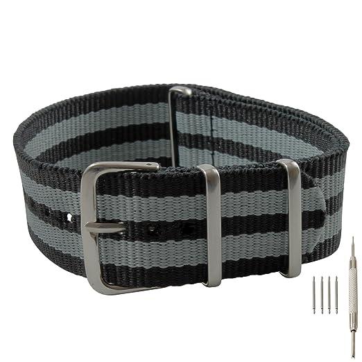 Barron Watch Company Correa de reloj de repuesto con 4 barras y herramienta extractora: Barron Watch Company: Amazon.es: Relojes
