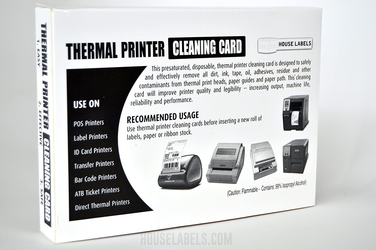 Amazon.com : 25 Printer Cleaning Cards, 4