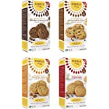 Simple Mills - Ready-to-Eat Crunchy Cookies - ALL Flavors Variety 4 Pack - 4.25 oz each, Gluten Free, Grain Free, Paleo (4 Pack)