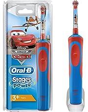 Cepillo de Dientes Eléctrico Oral-B Stages Power Kids de Los Personajes de Cars O