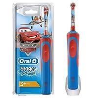 Oral-B Kids Elektrische Kinderzahnbürste, für Kinder ab 3 Jahren, im Disney Cars Design