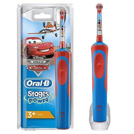 Cepillo de Dientes Eléctrico Oral-B Stages Power Kids de Los Personajes de  Cars O 4b9847aadf3e